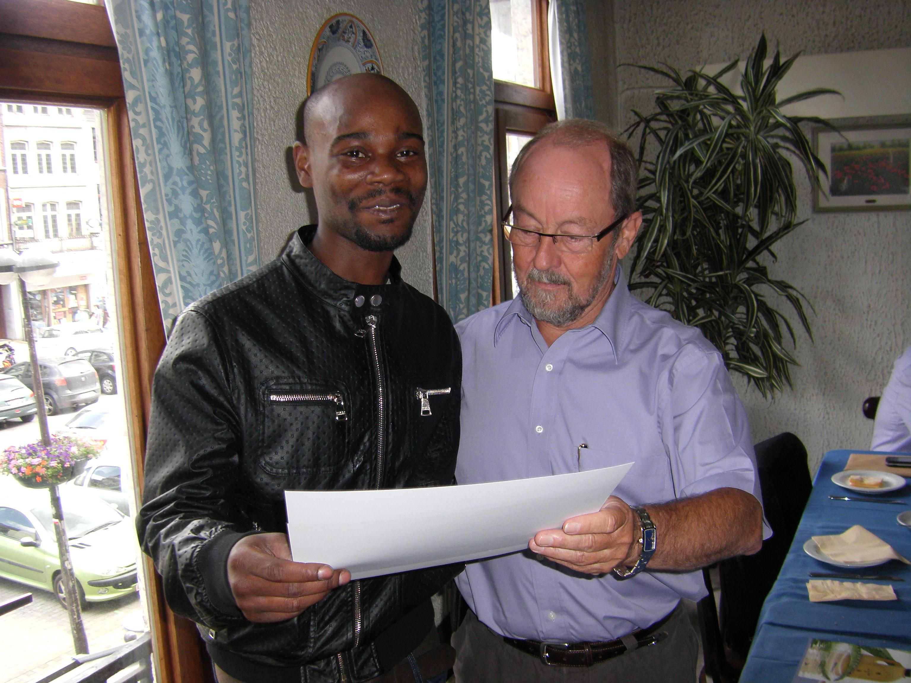 Remise des diplômes 2012 de la formation ESGE